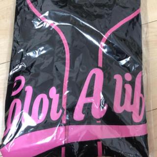 トリプルエー(AAA)のAAA 末吉秀太 ベースボールシャツ ピンク(ミュージシャン)