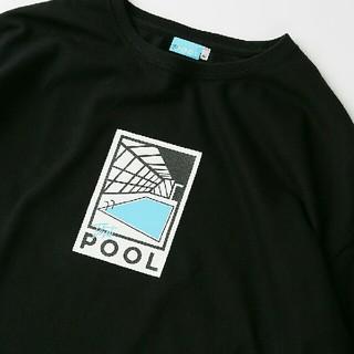 フリークスストア(FREAK'S STORE)の新品送料込 CREW ss LOGO TEE 例のプール 黒Lサイズ(Tシャツ/カットソー(半袖/袖なし))