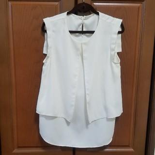デミルクスビームス(Demi-Luxe BEAMS)のノースリーブブラウス(シャツ/ブラウス(半袖/袖なし))