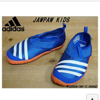 アディダス(adidas)のアディダス 水陸両用 シューズ 17㎝(アウトドアシューズ)