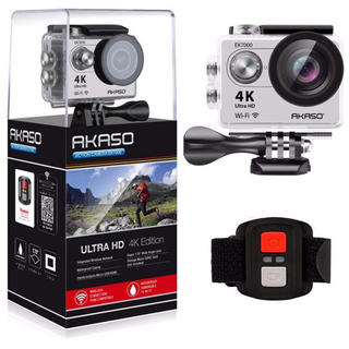 ゴープロ(GoPro)の【新品未使用】AKASO EK7000 4K(ビデオカメラ)