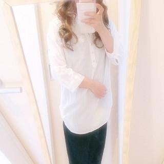 シマムラ(しまむら)のHKWORKSLONDONシャツ(シャツ/ブラウス(半袖/袖なし))
