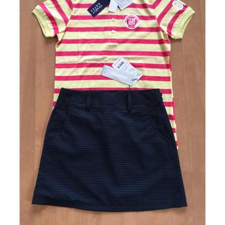 アディダス(adidas)の新品 アディダスゴルフ ゴルフスカート S ミニスカート スポーツスカート(ウエア)