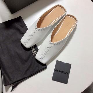 ジルサンダー(Jil Sander)のJIL SANDERジルサンダー新品シューズedition38(ローファー/革靴)