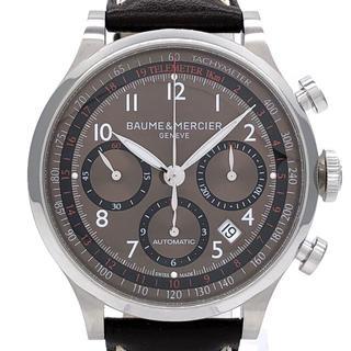 ボームエメルシエ(BAUME&MERCIER)のボーム&メルシエ ケープランド クロノグラフ ブラウン MOA10002(腕時計(アナログ))