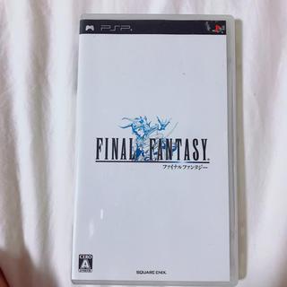 PlayStation Portable - ファイナルファンタジー PSP ソフト
