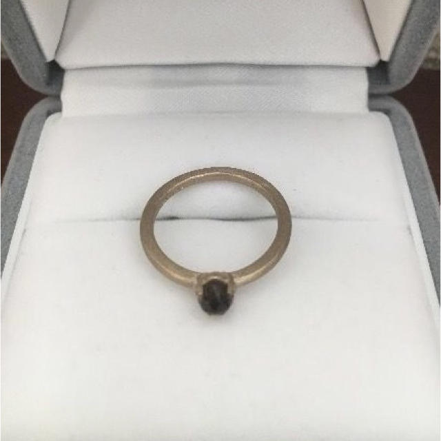 BARNEYS NEW YORK(バーニーズニューヨーク)のENUOVE イノーヴェ ローズカット クォーツ リング K18 2.5g レディースのアクセサリー(リング(指輪))の商品写真