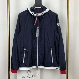 モンクレール(MONCLER)の新品Monclerジャケット/ネイビー(ブルゾン)