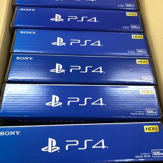 6台セット【新品】PlayStation4 ブラック4台 ホワイト2台(家庭用ゲーム本体)