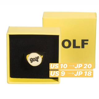 新品 箱付き OLDE GOLF RING GOLF WANG 指輪 金 リング(リング(指輪))