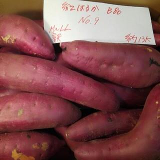 超お得‼ 訳あり☆限定品☆ねっとり甘い貯蔵品紅はるかB品約13Kです。(野菜)