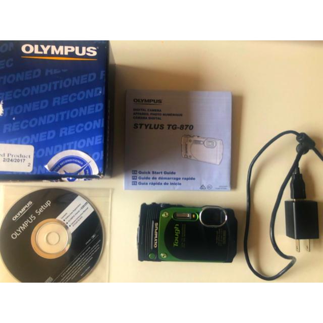 OLYMPUS(オリンパス)のOLYMPUS tg870  スマホ/家電/カメラのカメラ(その他)の商品写真