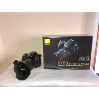 ニコン(Nikon)の【セット売】ニコンD750 24-120キット&タムロン 45mm f1.8(デジタル一眼)