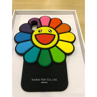 アイフォーン(iPhone)のiPhone xs 村上隆 カイカイキキ  マルチカラー 花柄(iPhoneケース)