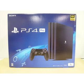 PS4 Pro 1TB ジェット・ブラック CUH-7100B B01 本体