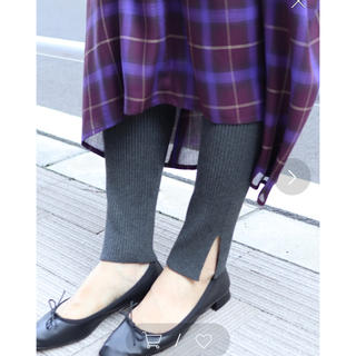 Spick and Span Noble - 【新品未使用タグ付】Spick and Span Noble♡リブニットレギンス