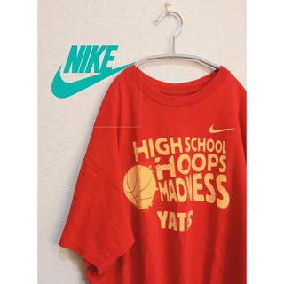 ナイキ(NIKE)のナイキ Tシャツ 赤(Tシャツ/カットソー(半袖/袖なし))