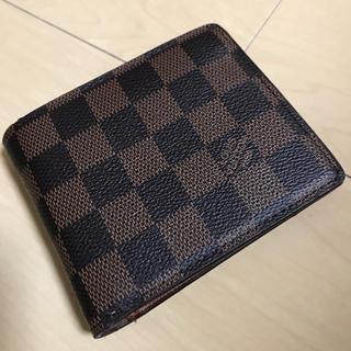 ルイヴィトン(LOUIS VUITTON)のVUITTON 二つ折り財布(財布)