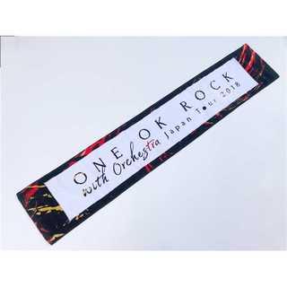新品■ONE OK ROCK 2018 マフラータオル レッド(ミュージシャン)