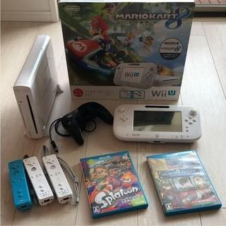 ウィーユー(Wii U)のWiiU 本体 マリオカート セット(家庭用ゲーム本体)