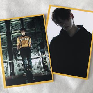 アイコン(iKON)の【 ジナン 】iKON NEWKIDS ポストカード YG公式グッズ(アイドルグッズ)