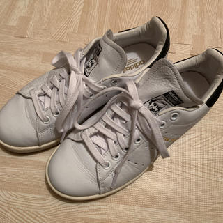 アディダス(adidas)のadidas スタンスミス ホワイト×ブラック(スニーカー)