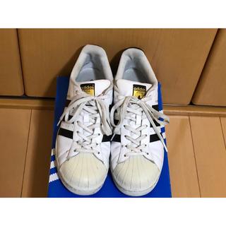 アディダス(adidas)のアディダス スーパースター メンズ 白スニーカー(スニーカー)