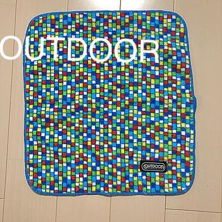 アウトドア(OUTDOOR)のマイクロファイバーハンドタオル(タオル/バス用品)