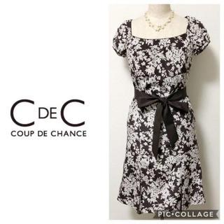 3eadd7453dcf7 クードシャンス(COUP DE CHANCE)の美品 クードシャンス 花柄 マーメイド ワンピース