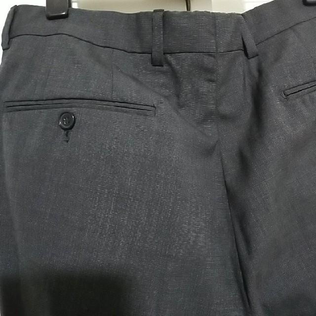 チャコール スーツ スラックス メンズのスーツ(スラックス/スーツパンツ)の商品写真