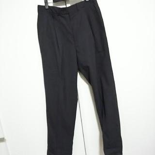 チャコール スーツ スラックス(スラックス/スーツパンツ)