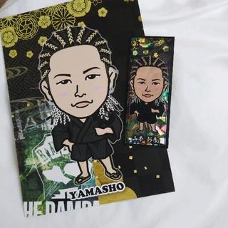 山本彰吾 POPカード 千社札 セット(ミュージシャン)