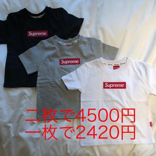 ナイキ(NIKE)のシュプリーム 風 supreme風 キッズ ベビー Tシャツ(Tシャツ/カットソー)