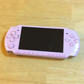 プレイステーション(PlayStation)の美品*PSP 3000 本体 ピンク(携帯用ゲーム機本体)
