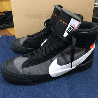 ナイキ(NIKE)のNIKE Off-White The Ten Blazer mid 27センチ(スニーカー)