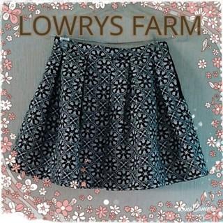 ローリーズファーム(LOWRYS FARM)の即決価格 LOWRYS FARM★スカート(ミニスカート)