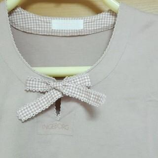 ピンクハウス(PINK HOUSE)の上品なピンクの半袖トップス(カットソー(半袖/袖なし))
