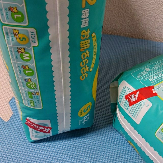 P&G(ピーアンドジー)のパンパース テープ Sサイズ 82枚入り×2 キッズ/ベビー/マタニティのキッズ/ベビー/マタニティ その他(その他)の商品写真