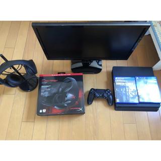 PlayStation4 - PS4 ゲーミングモニター ヘッドセット R6S PUBG