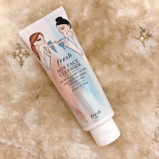 セフォラ(Sephora)のFRESH 豆乳洗顔料 限定パッケージ ソイ フェイス クレンザー(洗顔料)