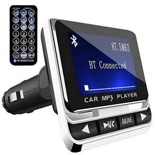 次世代FMトランスミッター Bluetooth ホワイト(車内アクセサリ)