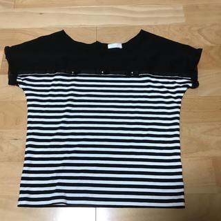 フェルゥ(Feroux)のFeroux ボーダーTシャツ(Tシャツ(半袖/袖なし))