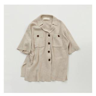 TODAYFUL - Over shirt knit♡écru
