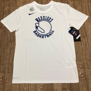 ナイキ(NIKE)の《新品未使用》ナイキ ウォリアーズ DRY-FIT tシャツ バスシャツ L(バスケットボール)