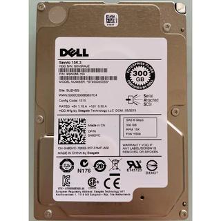 デル(DELL)の2.5インチ内蔵HDD ★SAS 300GB ★動作確認済み(PCパーツ)