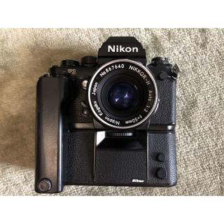 ニコン(Nikon)の 長期保証 Nikon F3 MD-4 50mm モードラ レンズ付き(デジタル一眼)