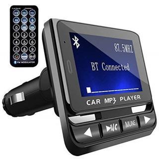 次世代FMトランスミッター Bluetooth ブラック(車内アクセサリ)