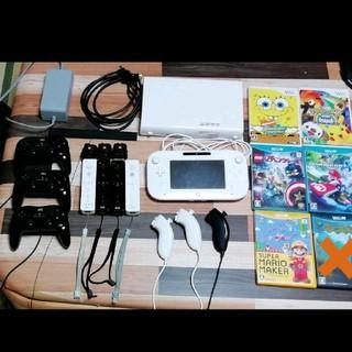 Wii U - wiiu セット 本体32ギガ ゲームパッド リモコン コントローラ ソフト他
