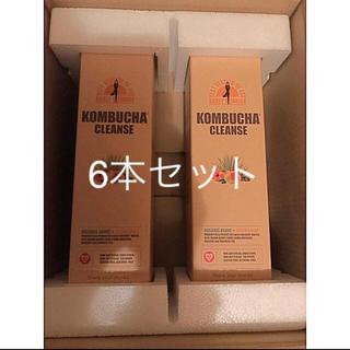 コンブチャクレンズ  酵素 ドリンク 6本セット(ダイエット食品)