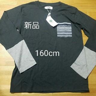 イッカ(ikka)の新品 ikka カットソー 160(Tシャツ/カットソー)